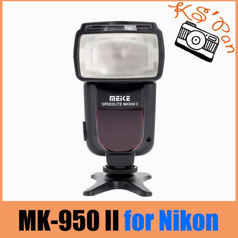Meike MK-950 Mark II TTL Slave Wireless Flashgun Speedlite For Nikon meike mk 950 mark ii ttl slave wireless flash speedlite for nikon d610 d7100 d5100 d3200 d810 d80 as yongnuo yn 565ex