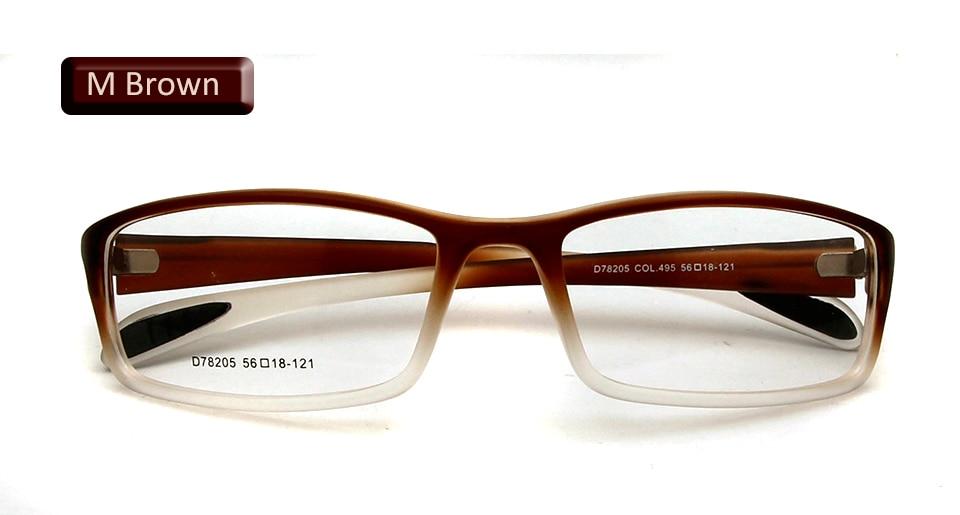 eyewear matte brown