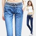 Новый Харен джинсы все-матч брюки женские упругие талии джинсы производители, продающие одного поколения