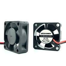 Микро кулер постоянного тока 3010 30x10 мм 5 в 12 В 24 В высокоскоростной 8262 об/мин втулка/2 ШАРИКОПОДШИПНИКА 30 мм вентилятор для видеокарты аксессуары для 3D-принтера