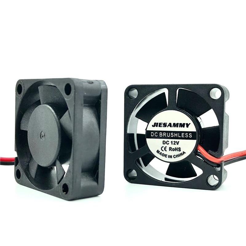 Micro DC Cooler 3010 30x10mm 5V 12V 24V High Speed 8262RPM Sleeve/2BALL Bearing 30mm Graphics Card Fan 3d Printer Accessories