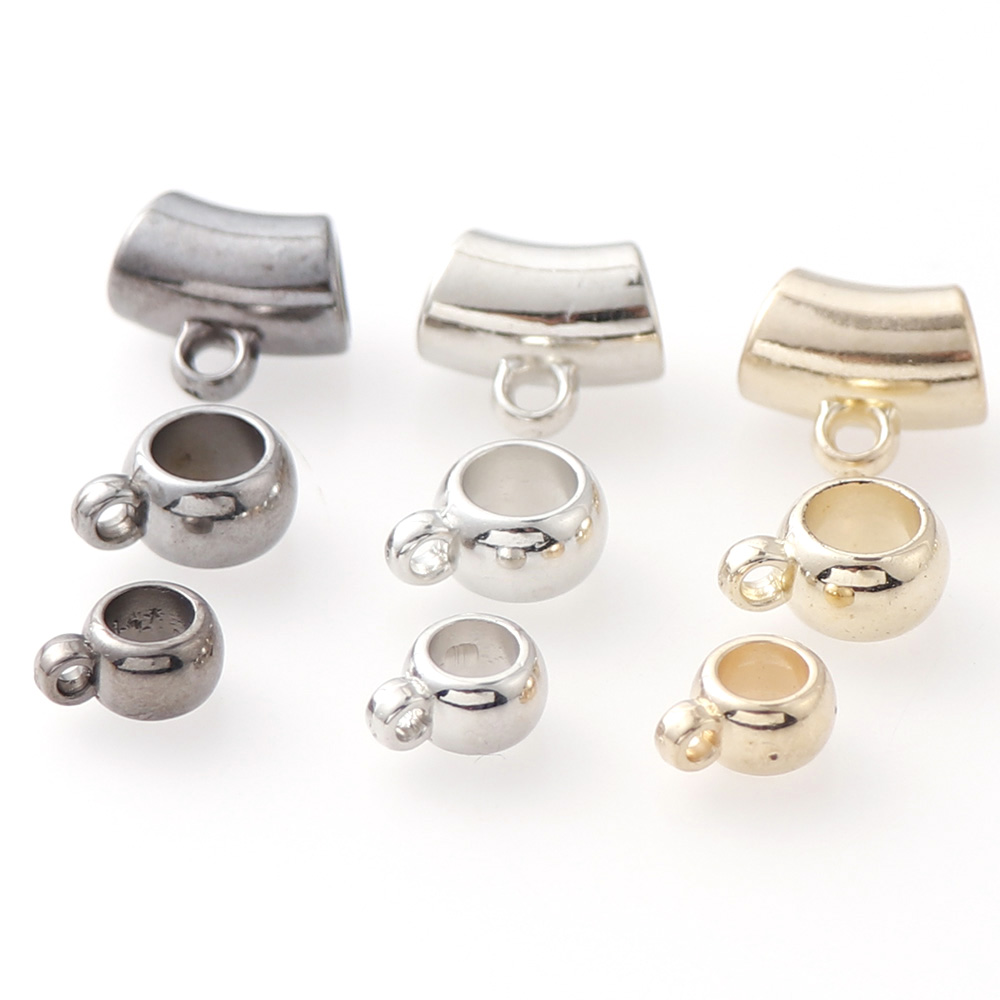 Wholesale Metal Silver Round Spacer Loose Beads Jewelers Findings Jewelry Making