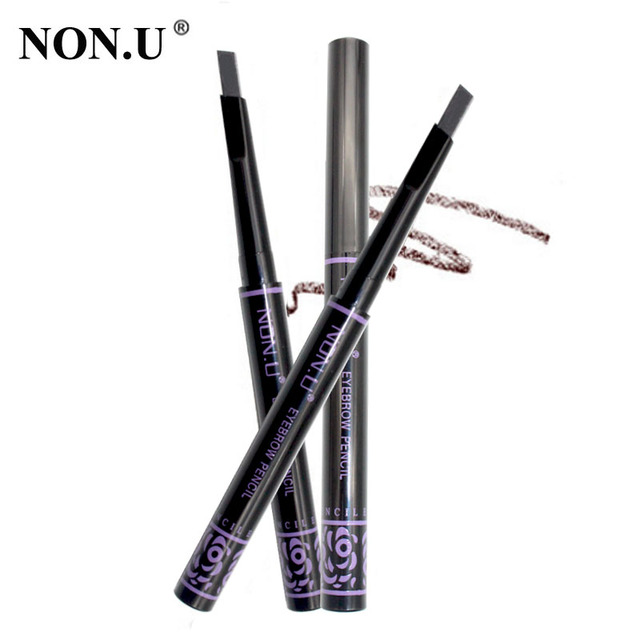 NON.U Brand New Automatic Makeup Eyebrow Pencil Waterproof Long-lasting Eye Brow Pencil Make Up Eyebrows Cosmetics