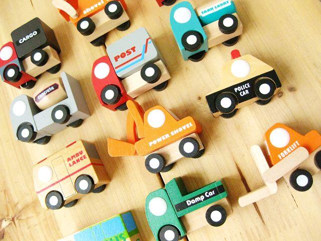 Fri frakt Trälastbil Modell hantverksdekoration 12PCS Bilbarns - Bilar och fordon - Foto 2