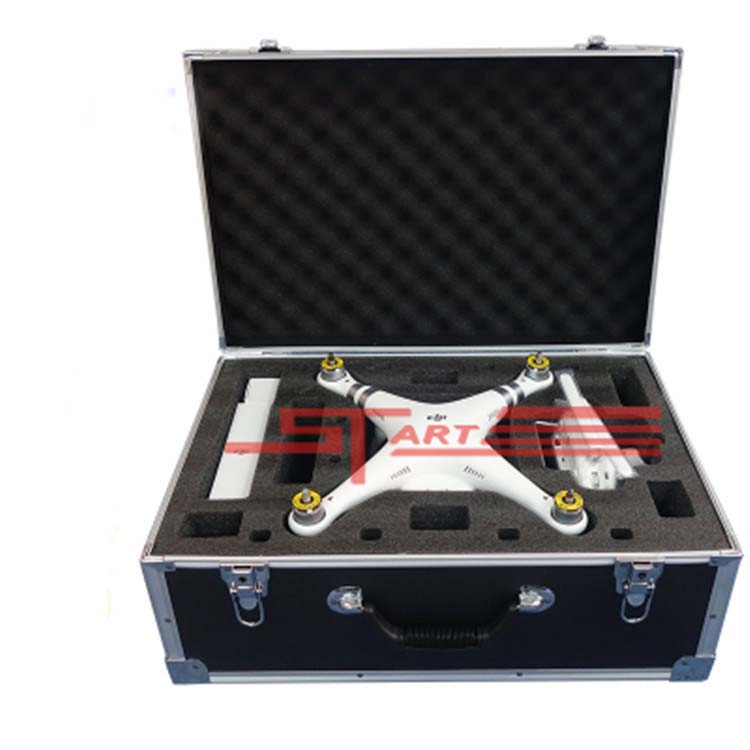 DJI Phantom 3 Aluminum Case for DJI phantom 3 professional Standard fpv drone quadcopter Box Helicopter parts toys Free Shipping