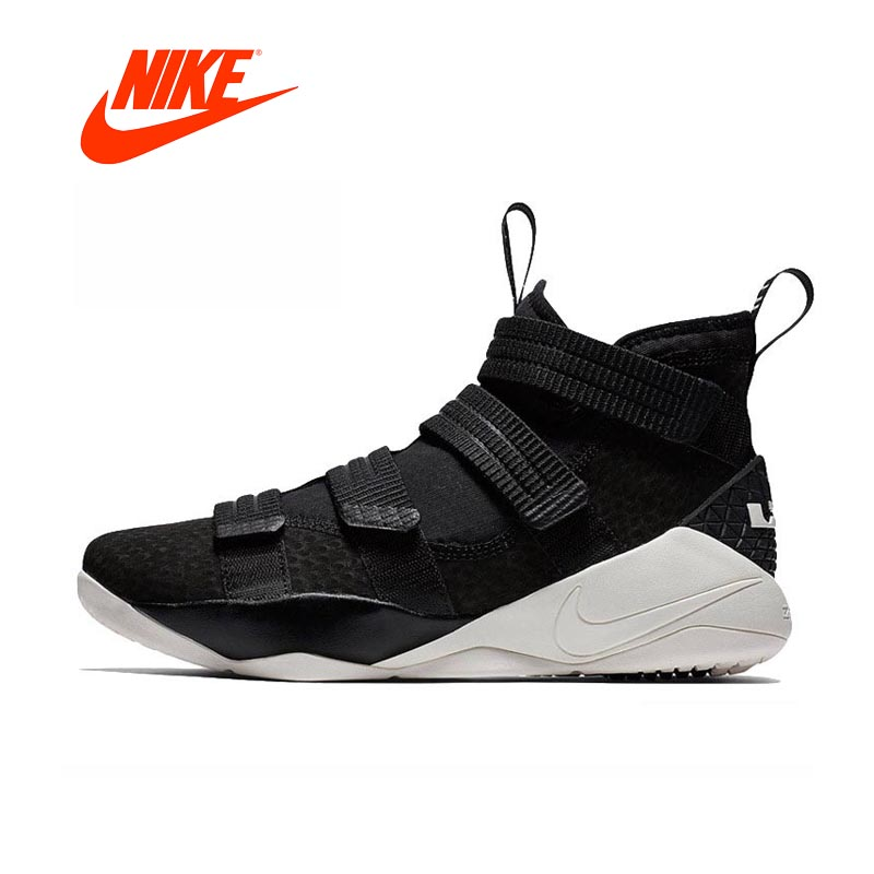 Original New Arrival Authentic Nike LEBRON SOLDIER 11mens Basketball Shoes Sneakers Comfortable Breathable leg avenue колготки с ажурными шортиками