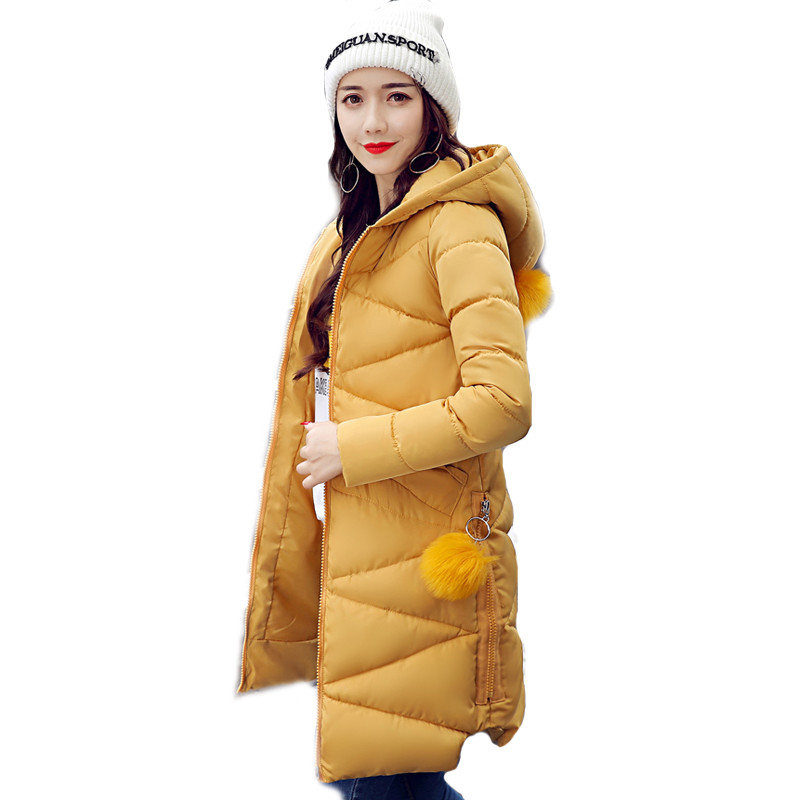 2017 New Brand Winter Jacket Women Jaqueta Feminina Inverno Women's Down Cotton Coat Long Parkas Jacket Hooded Warm Parka C3584 qazxsw 2017 new winter cotton coat women padded jacket hooded long parkas for girl thick warm winter coat jaqueta feminina hb274