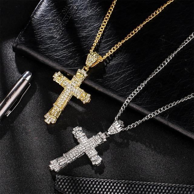 Crux Style Pendant Necklace