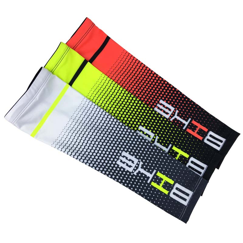1 Pair Cool Men Cycling Running Bicycle UV Sun Protection Cuff Cover Protective Arm Sleeve Bike Sport Arm Warmers Sleeves