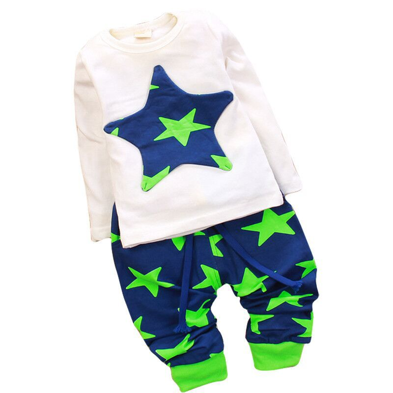 NEW Hot Sports Set 2pcs sport clothing set baby wear Kids
