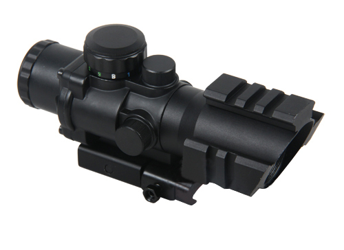 New Arrival 4x32 Quick Detachable Dual Illumination Tactical Compact Scope For Hunting BWR-048  new arrival tactical discovery vt 3 4 16x44sfvf rifle scope for hunting bwr 096