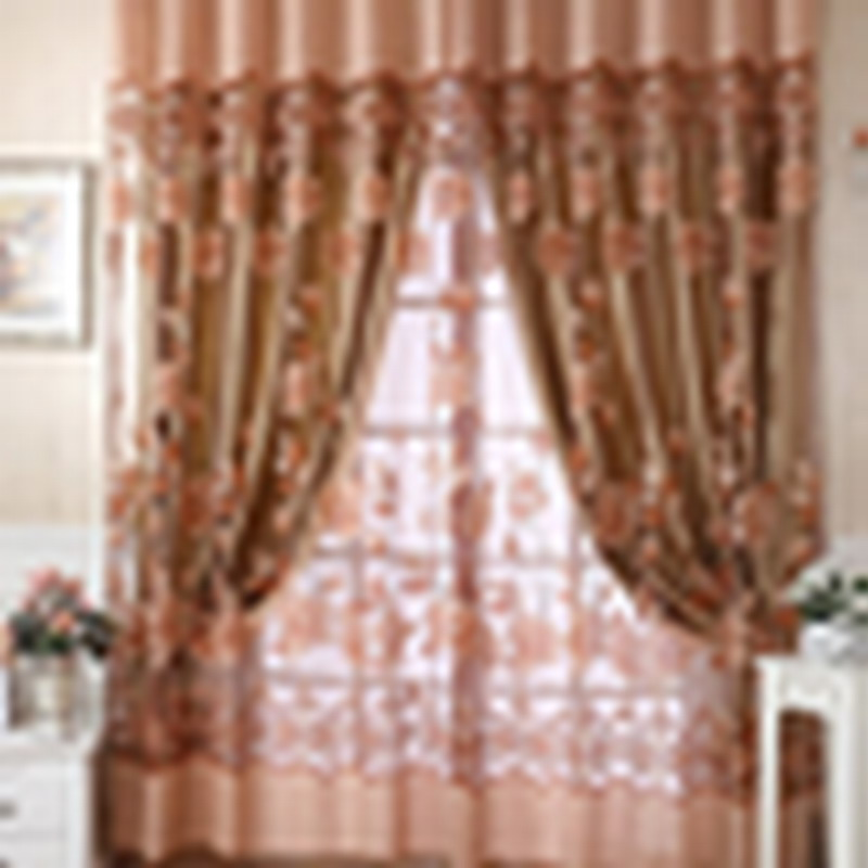 2016 New Modern Floral Sheer Tulle Voile Door Window Curtain Panel With 3  Colors 250cm X 100cm Multifunctional Curtains In Window Screens From Home U0026  Garden ...