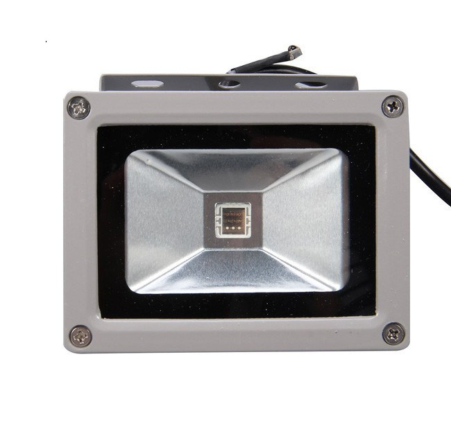 10W RGB Waterproof LED Flood Light Outdoor Floodlight Spotlight Garden lights High Power lamp With 24Key Remote Controller
