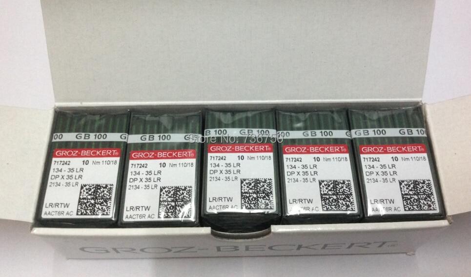 500 pcs pack original Groz Beckert sewing needles 134 35 LR DP X 35 LR 2134