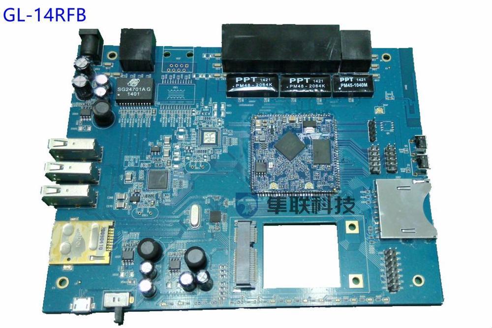 MTK7620 full interface intelligent development board, /WIFI module, /WIFI development board, /MT7620 development board pn532 nfc rfid shield module breakout board development board expansion board silver