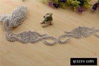 2015 Rhinestone Accessories Crystal Acrylic Rhinestone Trimming Chain Glass Crystal Cup Chain Sweet Color Trim