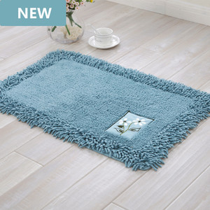 durable bathroom rug set,luxury big size bath tub mat non slip,door bathroom set carpet,bath mats rugs floor,60X90CM, 45X120CM(China)