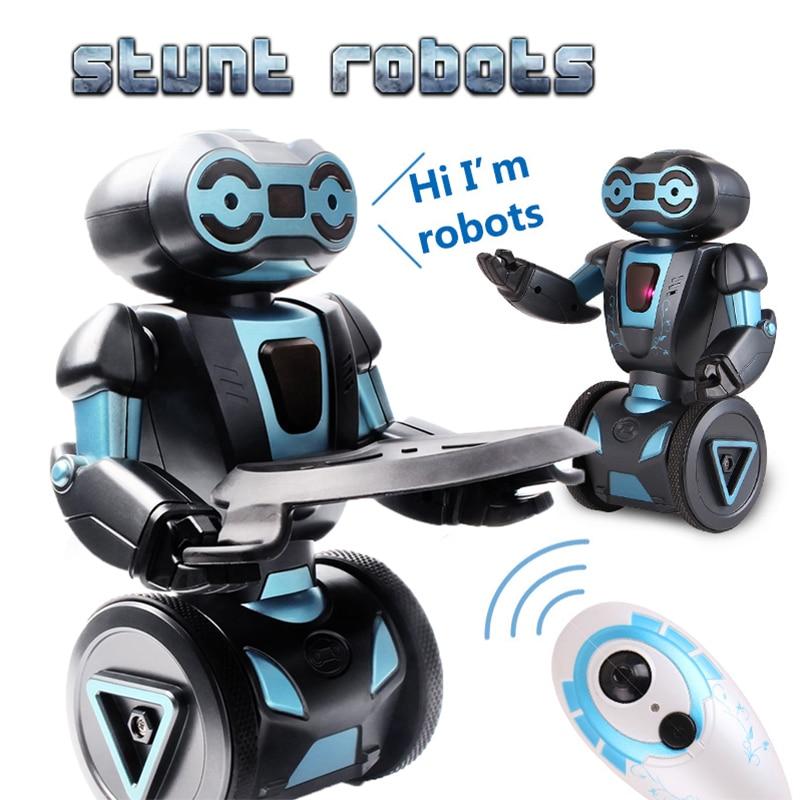 Intelligent Humanoïde Robotique Télécommande Robot Intelligent Auto Équilibrage Robot 5 Modes de Fonctionnement robot chien animaux jouets électroniques