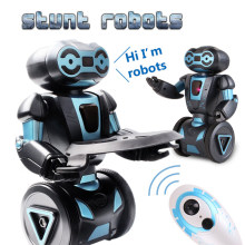 Intelligent Humanoid Robotic Remote Control Robot Smart Self Balancing Robot 5 Operating Modes robot dog pets electronic toys(China)