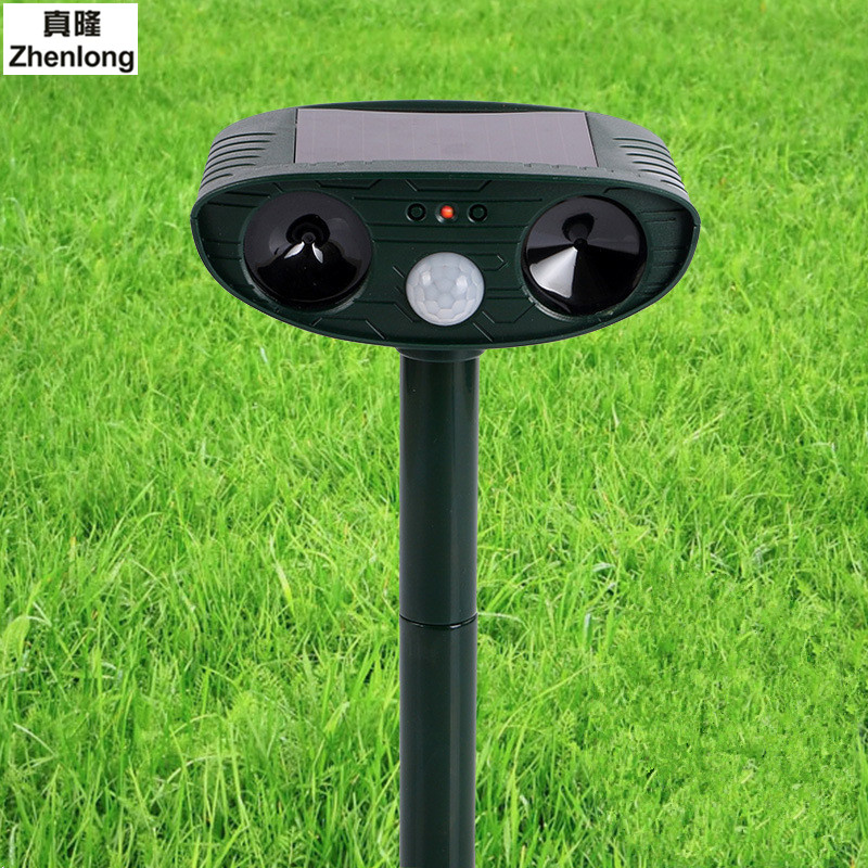 Us 18 46 29 Off Led Solar Light Outdoor Lawn Bulb Bird Control Infrared Sensor Drive Cat Dog Garden Orchard Indicator In
