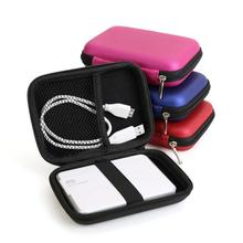 Case Cover For Cable Pouch 2.5 inch Power Bank USB External HDD Hard Disk Drive Protect Protector Bag -25