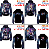 Game League of Legends LOL 3D Print Sweatshirts Pullover Hoodies Casual Streetwear Men Boys Cosplay Costume Jacket Coat Tops