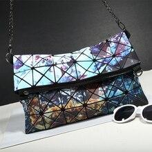 Designer Frauen Kette Umhängetaschen Frische Mädchen Stern Fach Über Handtaschen Geometrische BaoBao Tasche Lässig Kupplung Umhängetasche Bao Bao
