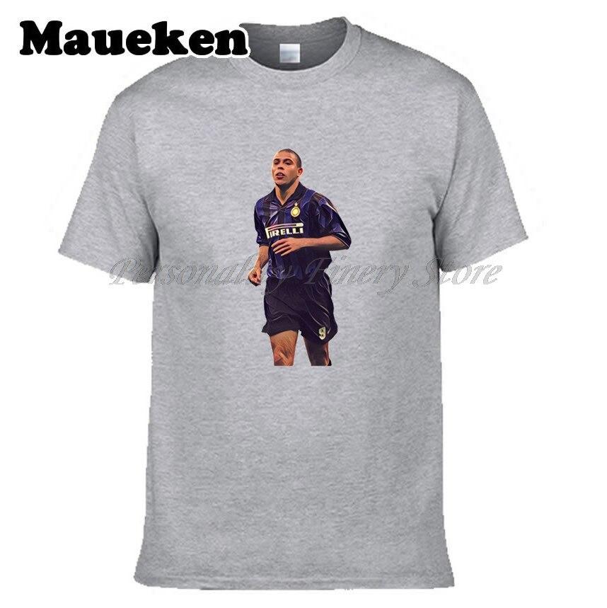 Men inter The aliens Ronaldo #9 Luiz Nazario De Lima T-shirt Clothes T Shirt Mens for milan fans gift o-neck tee W17081103