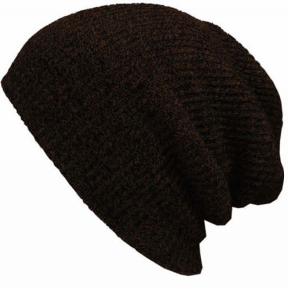 1 Stück Mode Neue Unisex Männer Frauen Knit Baggy Beanie Winter Herbst Hut Ski Slouchy Chic Gestrickte Kappe Schädel Heißer Attraktive Mode