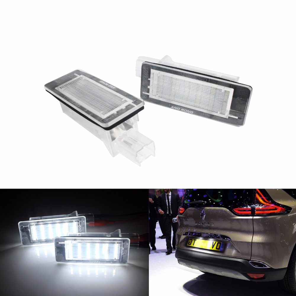 1x Land Rover Range Rover MK3 Bright White 3SMD LED Canbus Number Plate Bulb