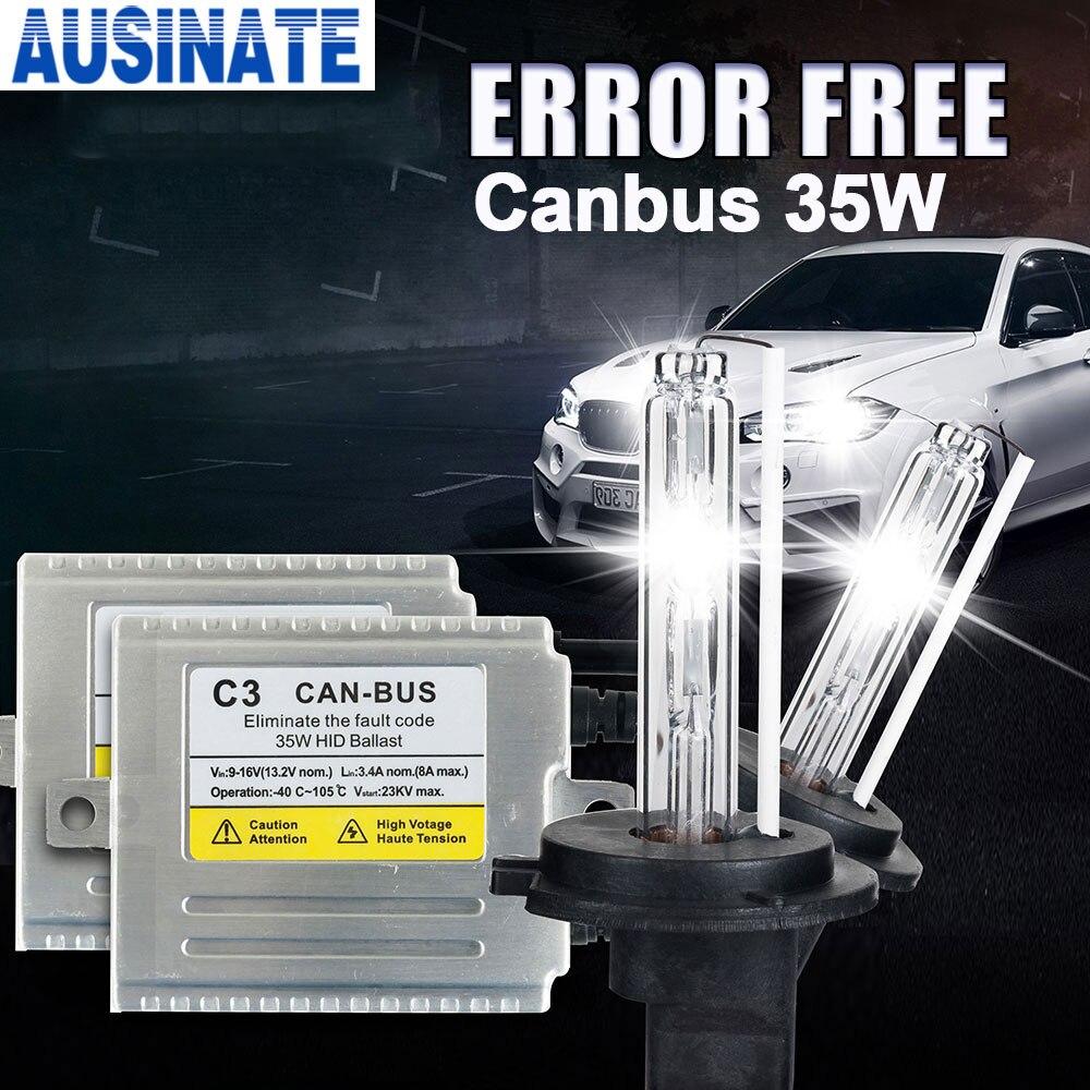 C3 Canbus H7 KIT XÉNON HID 35 W caché lampe H1 H3 H4 H7 H11 9005 9006 881 D2S 35 W ampoule xénon 4300 k 5000 K 6000 k 8000 k kit xénon h4