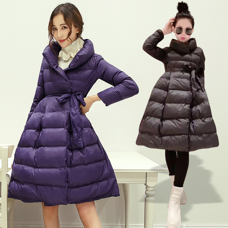 Women Jacket Winter New Loose Womens Clothing Temperament Parkas Coats For Women Down Padded Cotton Jacket Outerwear Tops C1610