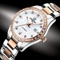 Швейцарские карнавальные женские часы люксовый бренд женские автоматические механические часы женские водонепроницаемые relogio feminino 8685L