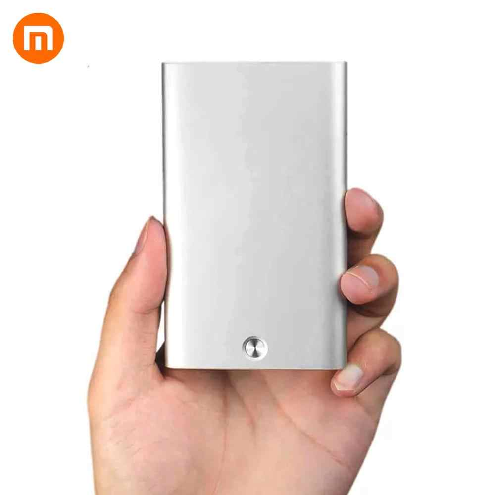 HOT Xiaomi Miiiw Card Case Automatic Pop Up Box Cover Card Holder Mijia Metal Wallet ID Portable Storage Bank Card Credit Card