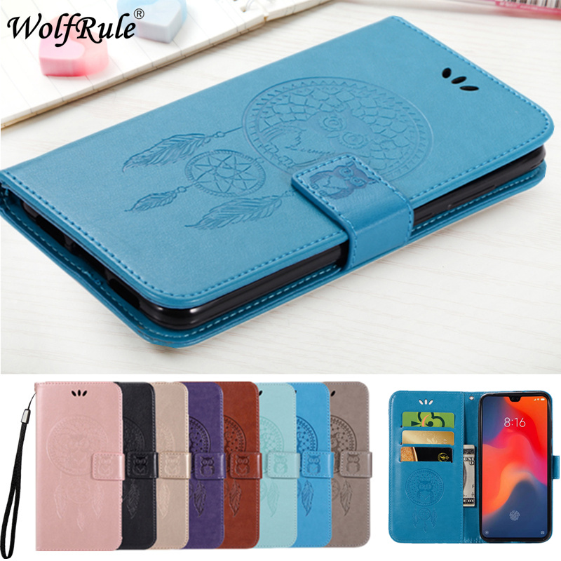 Wolfrule Cover For Huawei P30 Case Owl Flip Wallet Leather Cover For Huawei P30 Luxury Phone Bag Case For Huawei P30 6.1 Women* Phone Bags & Cases Cellphones & Telecommunications