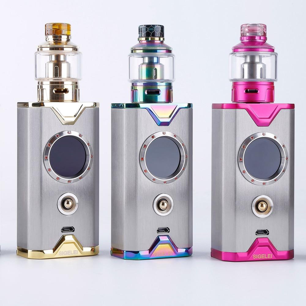 Le plus nouveau kit de Vape de conception E mod de Cigarette électronique et atomiseur du kit d'édition de gemme de sigelei Shikra super puissance