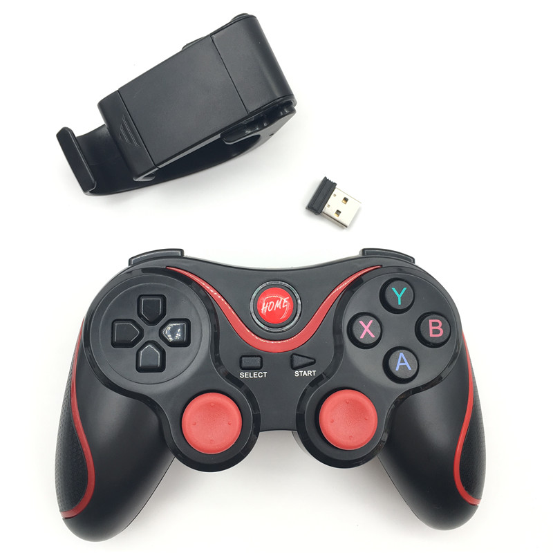 X3 updated t3 Gamepad Joystick Wireless Bluetooth 3.0 Android Gamepad Gaming Remote Control for phone PC Tablet TV Box