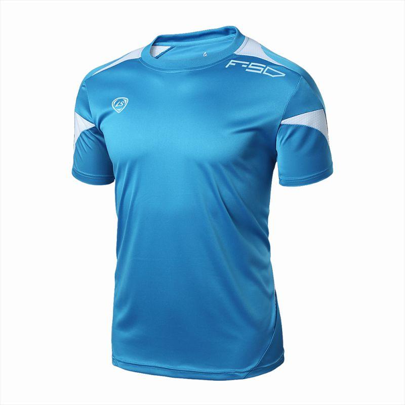 5c938f5451353 Hommes À Séchage Rapide Sport de Course T-Shirt Fitness Gym Stretch Top  T-shirt Plus La Taille M-2XL
