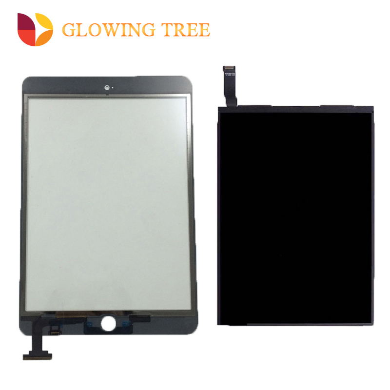 Black / White For iPad mini 2 2nd A1489 A1490 Touch Screen Digitizer Sensor Glass + LCD Display Screen Panel Monitor