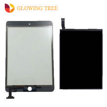 Zwart/Wit Voor iPad mini 2 2nd A1489 A1490 Touch Screen Digitizer Sensor Glas + Lcd-scherm Panel monitor(China)