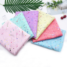 155cm Width 1meter/lot Glitter Sequins Soft Gauze Polyester Mesh Tulle Fabric DIY Sewing Tutu Wedding Birthday Party Supplies