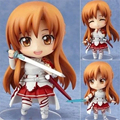 "[PCMOS] 2017 New Sword Art Online Asuna #283 Nendoroid SAO 10cm/4"" Anime Figure Collection no box Hot Free Shipping  5159-L"