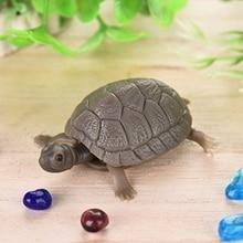 1pc Artificial High Simulation Fake Tortoise Aquarium Emulational Floating Plastic Turtles Fish Tank Aquatic Decoration Ornament