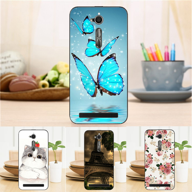 New Soft Silicon TPU Case For ASUS ZenFone Go ZB500KL X00AD X00ADC X00ADA X00BD ZB500KG 5.0 inch
