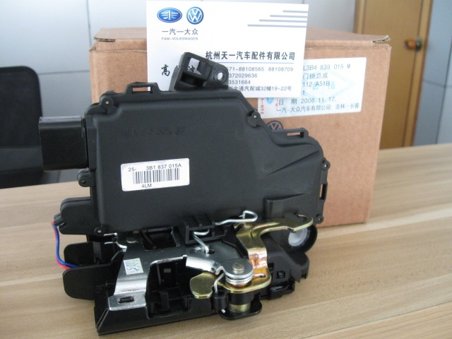 Free shipping OEM Front Left Dirver Side Door Lock Unit Module Fit For VW Passat B5 Golf MK4 Jetta MK4 Bora 3B1 837 015A