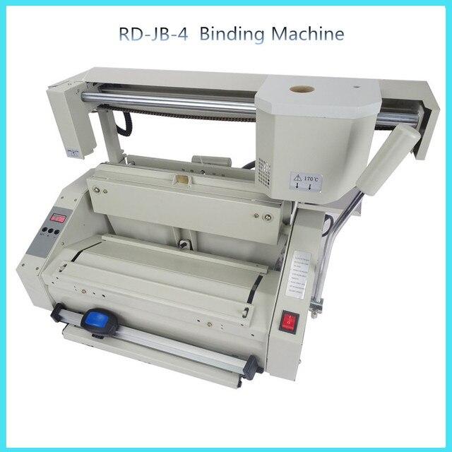 RD JB 4 Desktop Glue Book Binding Machine Glue Book Binder