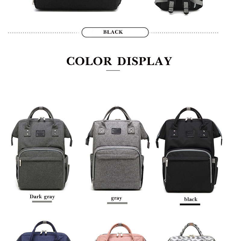 HTB1yVLZelCw3KVjSZFuq6AAOpXau Nappy Backpack Bag Mummy Large Capacity Bag Mom Baby Multi-function Waterproof Outdoor Travel Diaper Bags For Baby Care