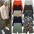 S-XXXL Top Quality Bermuda Shorts Men Summer Casual Street Hip Hop Shorts Camouflage Army Military Shorts Camo Solid Noah Shorts