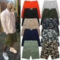 S-XXXL de Alta Calidad Bermudas Hombres Del Verano Ocasional de La Calle de Hip Hop Pantalones Cortos Pantalones Cortos de Camuflaje Militar Del Ejército Camo Noah Sólido Shorts