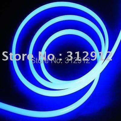 Plastic side glow light optic fibre cable;100m long each roll;8.0mm diameter